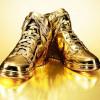 zapatillas Nike de oro