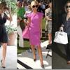 Victoria Beckman colecciona bolsos lujosos