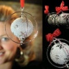 Arbol de navidad con diamantes de lujo