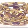 Un diamante amarillo en subasta