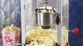 Retro Hot-Oil Popcorn Maker de lujo
