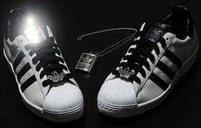 Zapatillas Adidas con diamantes. 60 Aniversario