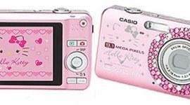 Cámara fotográfica Casio de 9.1 Mega Pixeles de Kitty