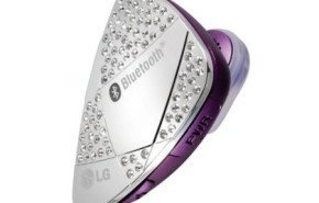 headset LG bluetooth con diamantes