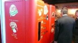Let´s Pizza. Una máquina expendedora
