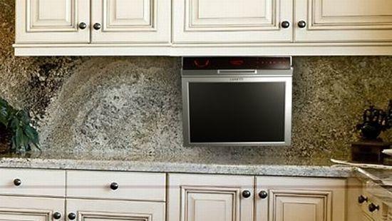 Luxurite kitchen tv en tu cocina - Television en la cocina ...