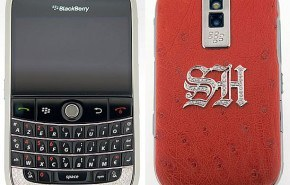 BlackBerry Tellor con diamantes