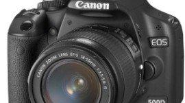 La mejor cámara digital del planeta. Canon EOS 500D