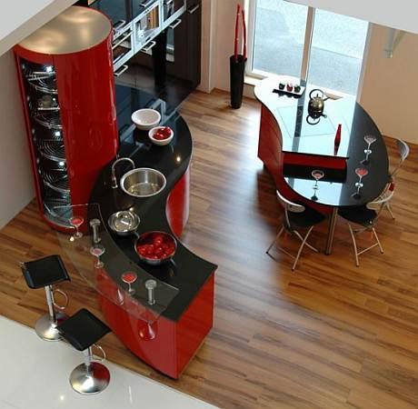 Cocina tem tica de ferrari cocina de lujo for Cocinas ferrati