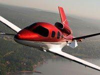 Avión de lujo Vision Jet de Cirrus Aircrafts