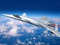 Avión supersónico en el 2016 QSST Quiet Supersonic Transport