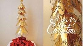 Decoracion navidad lujo 2009   arbol navidad de oro
