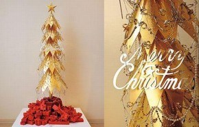 Decoracion navidad lujo 2009 | arbol navidad de oro