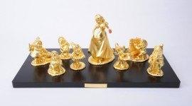 Decoracion navidad lujo 2009 | esculturas de oro