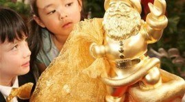 Santa Claus de oro