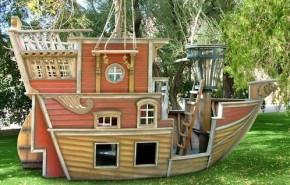Barco pirata para niños de lujo