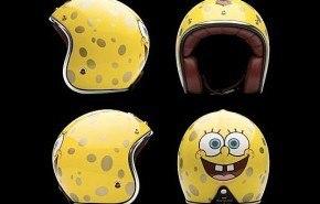 Bob Esponja casco de lujo
