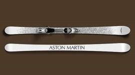 Esquíes de lujo Aston Martin