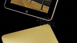 iPad de lujo en oro y diamantes