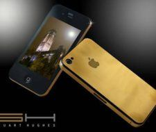 iPhone 4G de oro