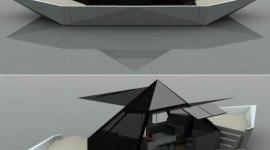 Barco de papel de lujo