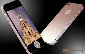 iPhone 4G de diamantes
