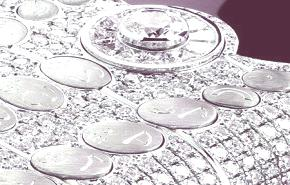 Un móvil de diamantes