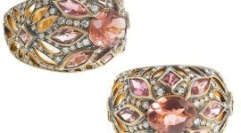 Anillo de diamantes primavera