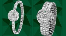 Reloj completamente de diamantes