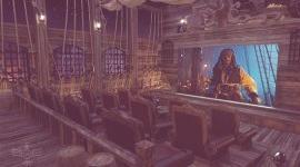 Un Home Theatre inspirado en Piratas del Caribe