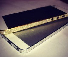 El iPhone 5 con diamantes