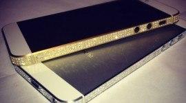 El iPhone 5 con diamantes