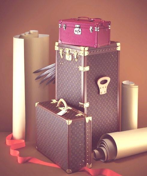 louis Vuitton maletas