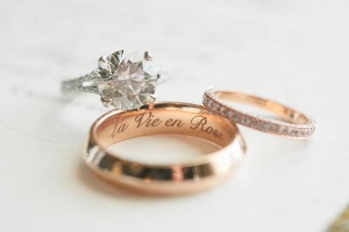 Qu poner en tu anillo de boda recomendaciones for Que poner en los banos de una boda