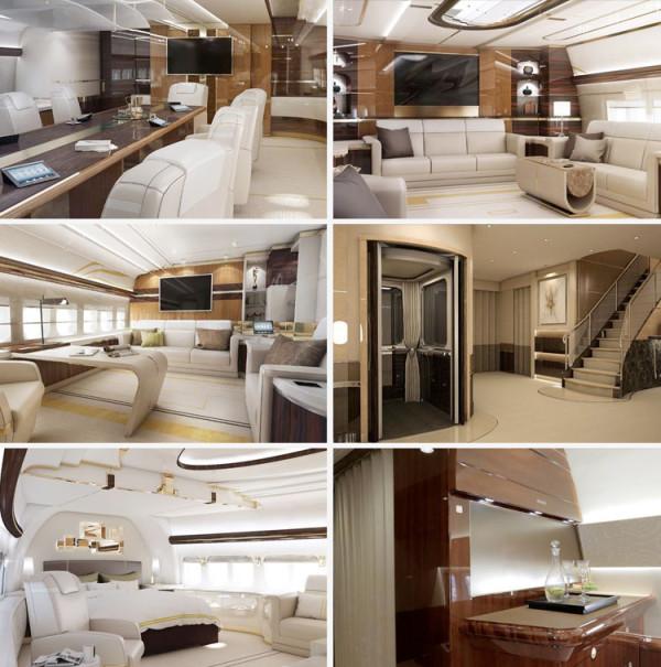 Los 10 Interiores De Aviones M 225 S Lujosos Espaciolujo Com