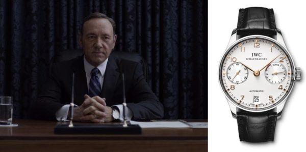 Relojes de Frank Underwood