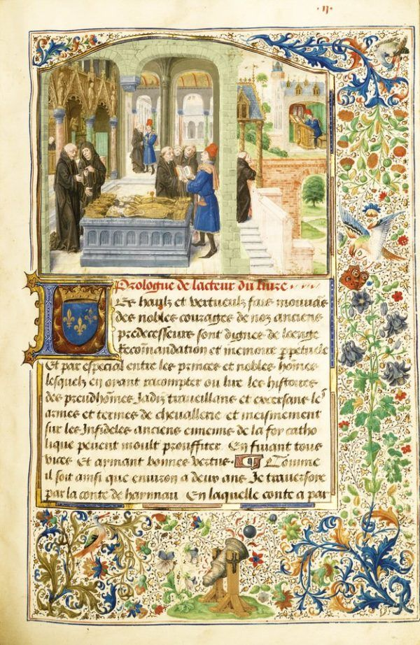 Deeds of Sir Gillion de Trazegnies in the Middle East