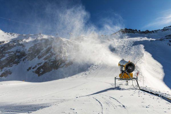 Máquina de nieve